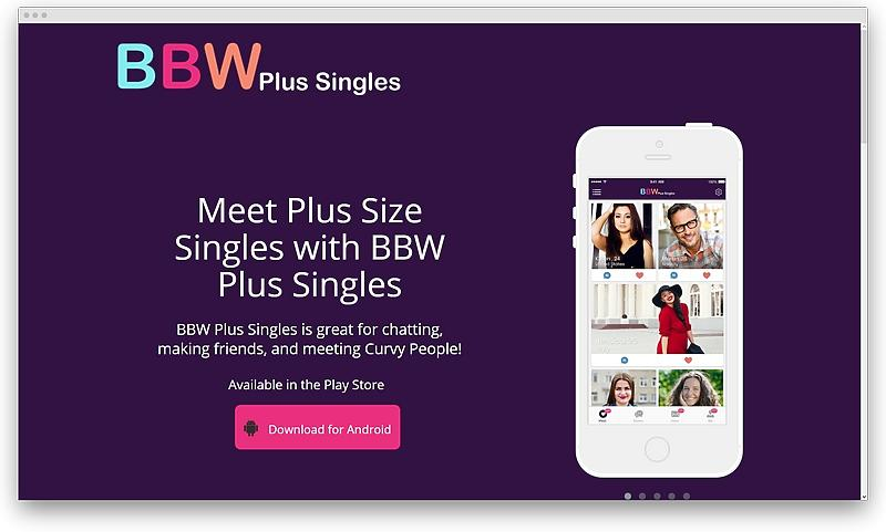 screenshot BBW Plus Singles mingle com 1575559529139 - Plus size dating services for the curves to be adored