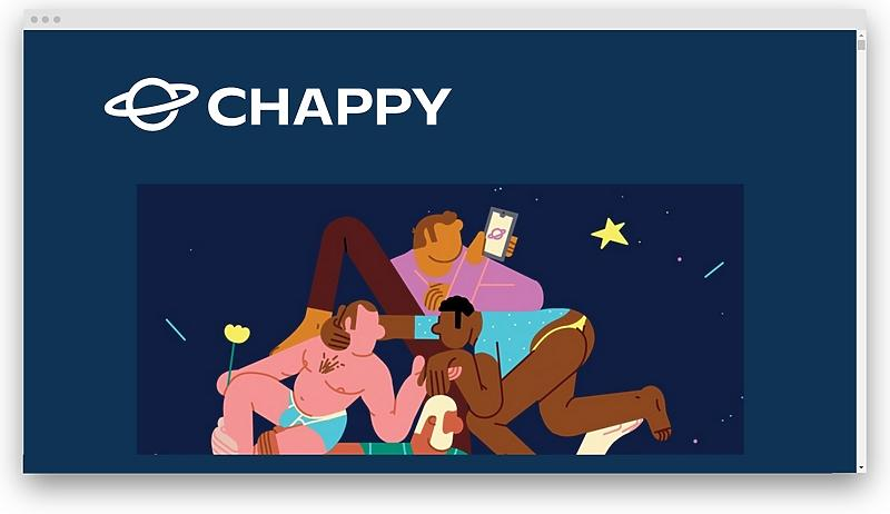 screenshot chappyapp com - 28 trans dating apps that really work