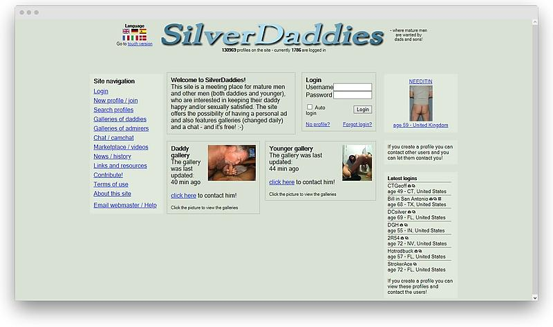 screenshot silverdaddies com 1575414957681 - The best LGBT dating sites to try right now
