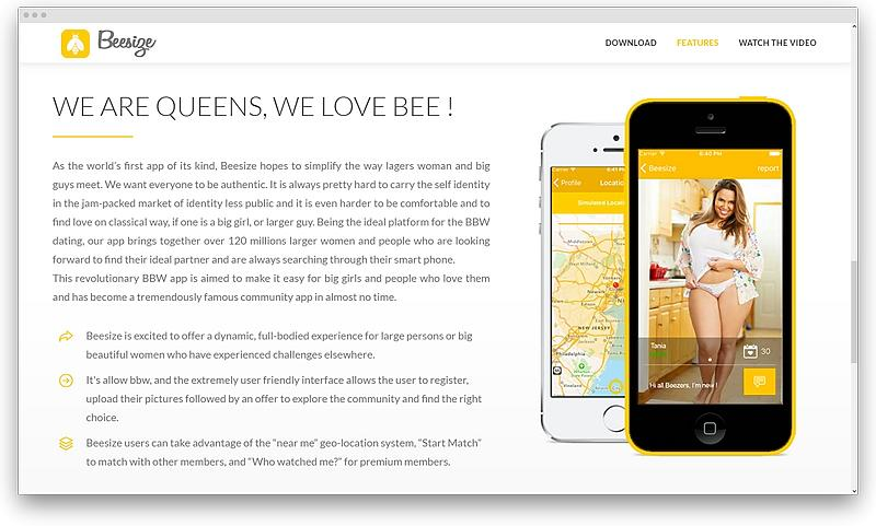 screenshot www beesize net 1575559828249 - Plus size dating services for the curves to be adored