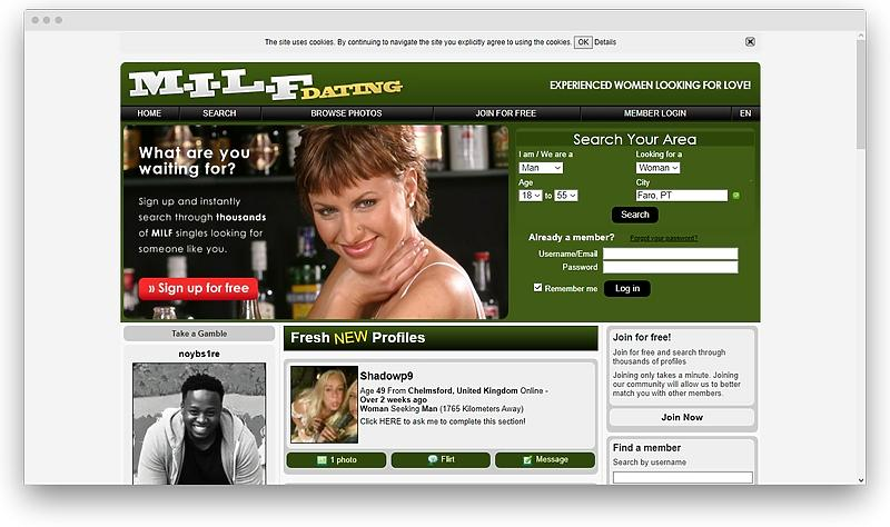 screenshot www milfdating com 1575932495686 - Best MILF dating sites