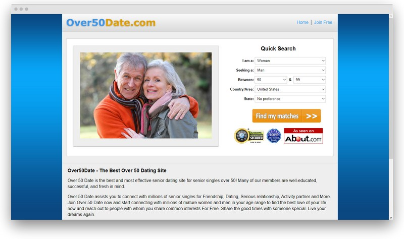 screenshot www over50date com 1578563788192 - Best senior dating sites: top 10 sites for dating with olders