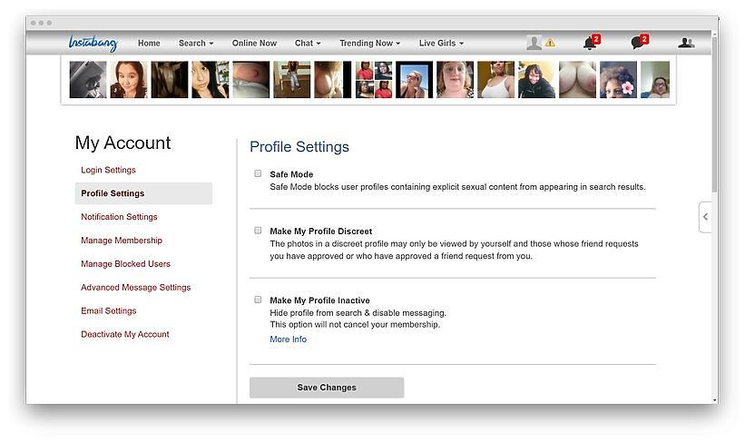Instabang review screenshot 10 - Hookup with a bang: my experience of dating on Instabang