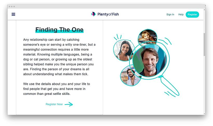 experience on Plenty of Fish screenshot 01 - Top Frusernameexting websites in US 2020