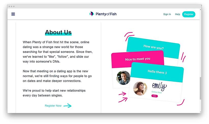 experience on Plenty of Fish screenshot 03 - Top online dating apps in 2020 in USA