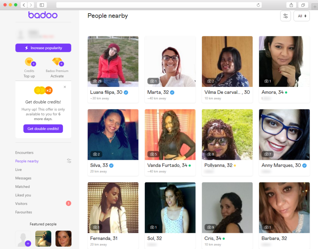 people nearby badoo 1024x802 - How I tried Badoo search to find a girlfriend