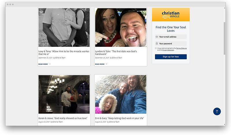 screenshot www christianmingle com en believe success stories 1569358625083 - 19 free dating sites with no sign up