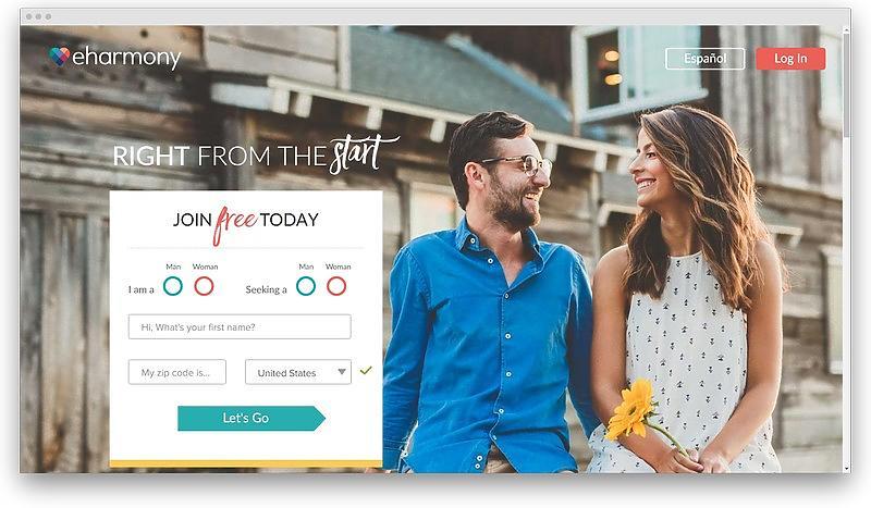 screenshot www eharmony com - Best Christian dating sites