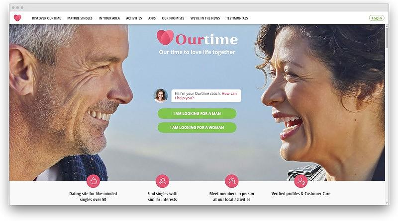 screenshot www ourtime 1 - 19 free dating sites with no sign up