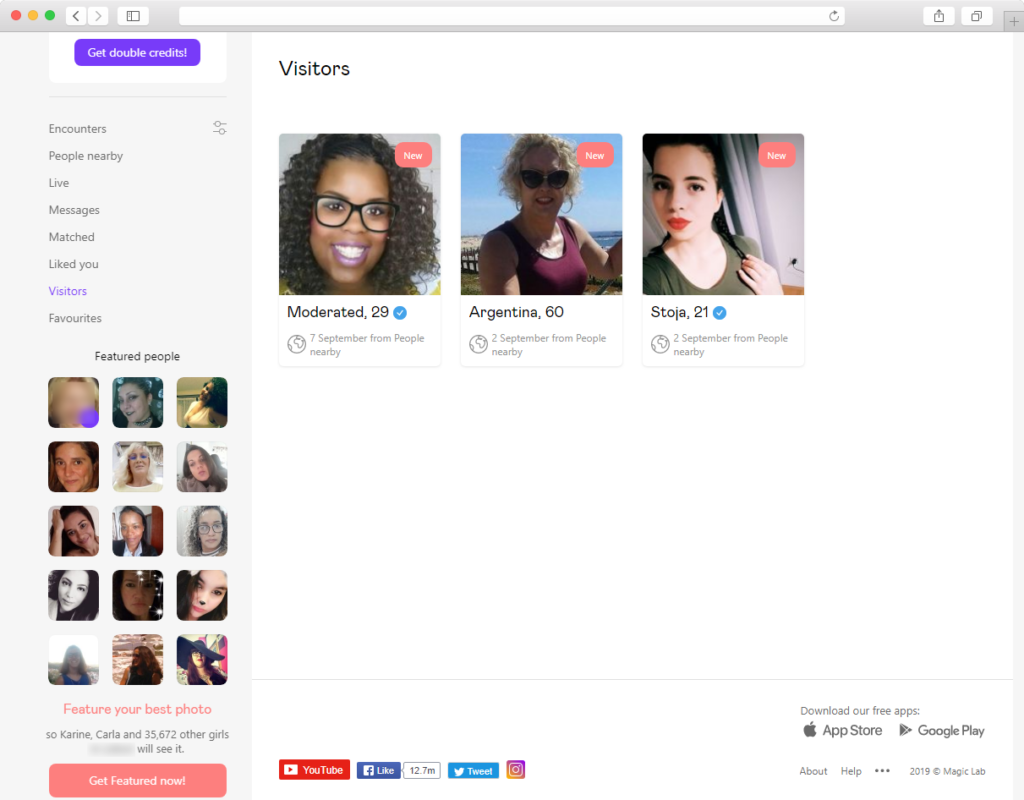 visitors badoo 1024x800 - How I tried Badoo search to find a girlfriend