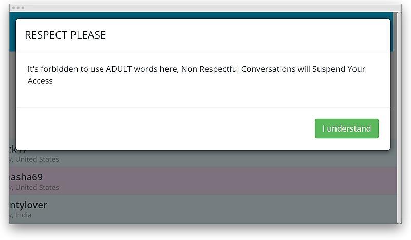 Chatib hookup on a chat platform 05 - Chatib review: how big are hookup chances on a chat platform