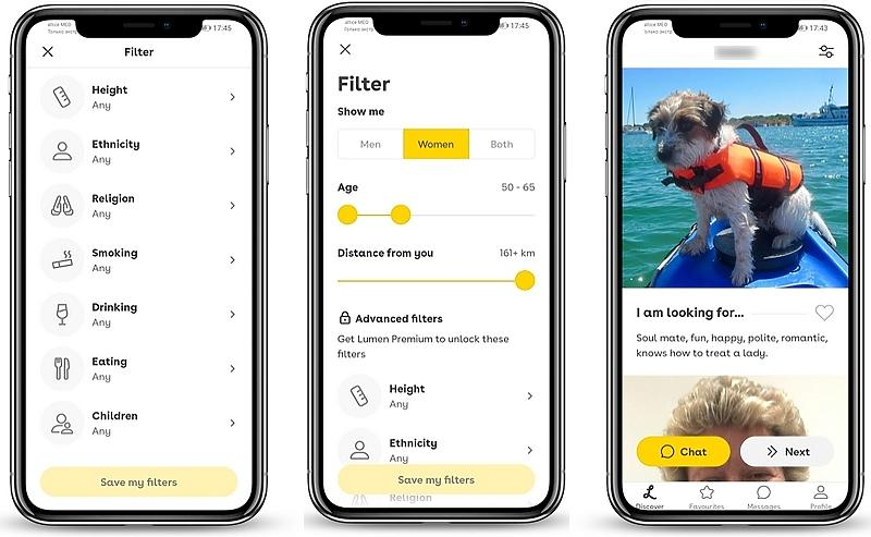 Lumen dating app review 04 - Lumen Dating Site Review: how I tried senior Lumen dating app and why it didn't work for me