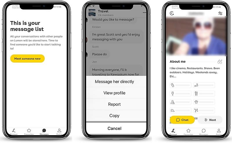 Lumen dating app review 06 - Lumen Dating Site Review: how I tried senior Lumen dating app and why it didn't work for me
