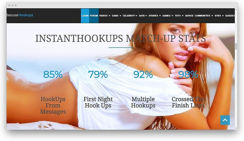 Reviewing InstantHookups 09 - Best hookup apps for sex dating and free casual sexting