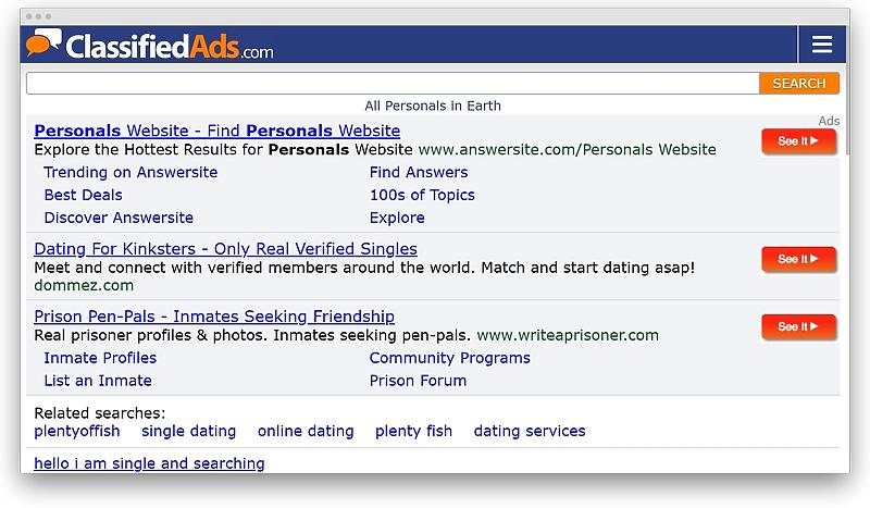 Craigslist dating is what Craigslist Personals: