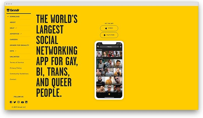 screenshot www grindr com - Best hookup apps for sex dating and free casual sexting