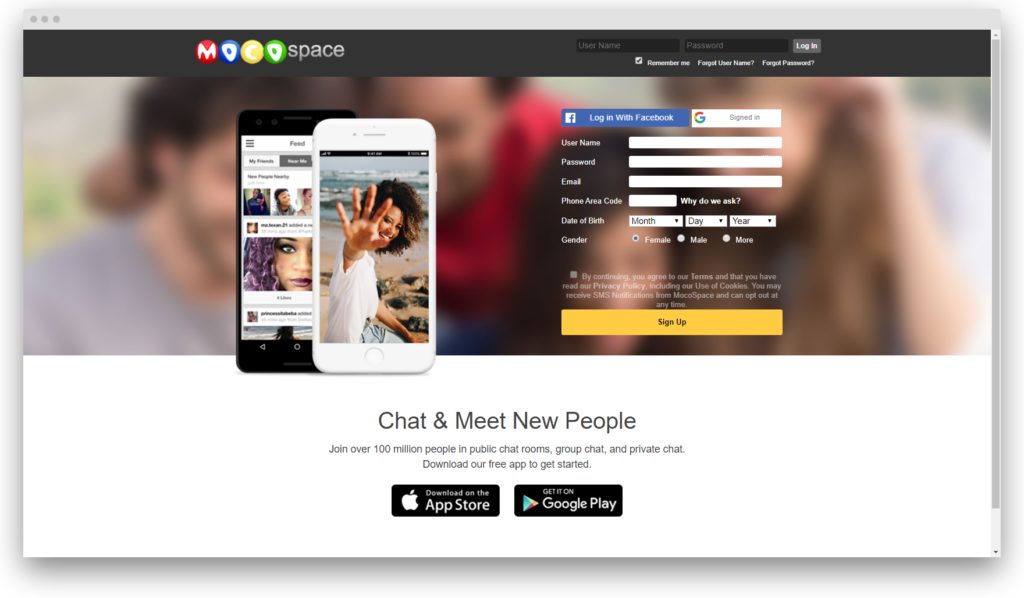 screenshot www mocospace com html logout jsp 1570007268756 1024x598 - How I tried dating on Mocospace: the full review