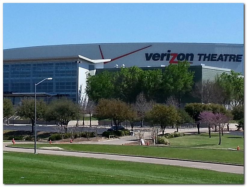 VerizonTheatre - Dallas hookups