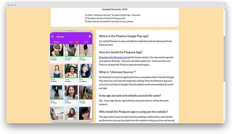 pinalove com dating platform review 05 - Pinalove review — everything you need to know