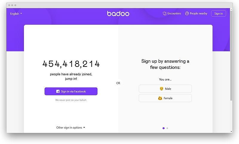 screenshot badoo com 1574254354731 - Most popular like Tinder dating apps in 2020
