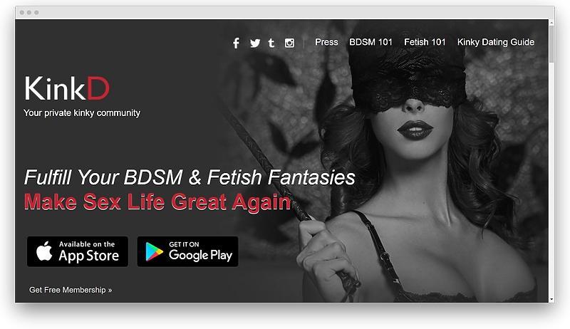 screenshot www kinkdapp com 1573601398613 - The top 9 BDSM Dating Sites: BDSM, fetish, and kink dating sites & apps in 2020