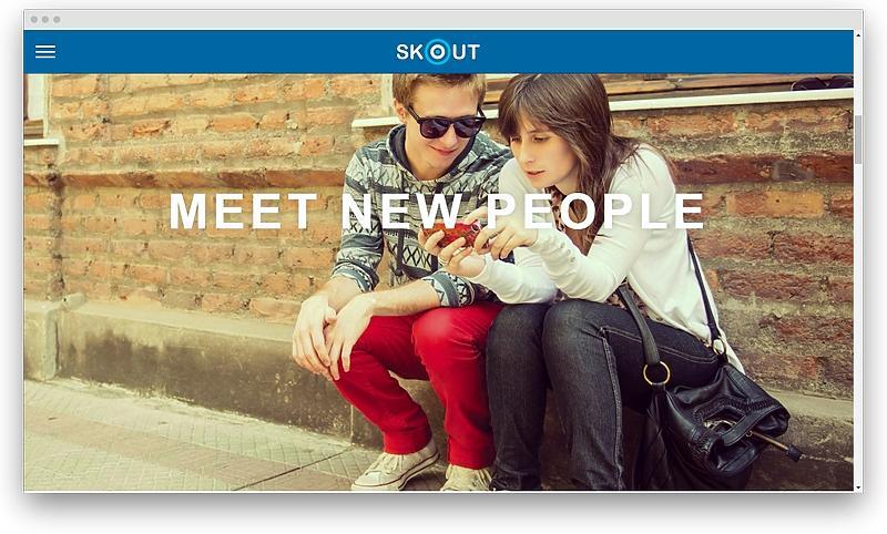 screenshot www skout com - Most popular like Tinder dating apps in 2020