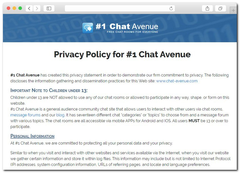 adult chat avenue 07 - Chat Avenue: all the information on the oldest chat website in the history