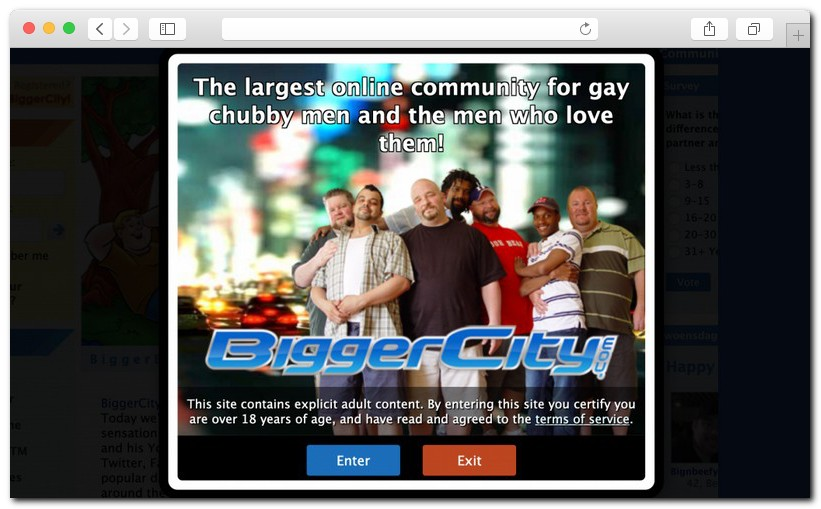 BiggerCity review 10 - BiggerCity full review for daddy bears