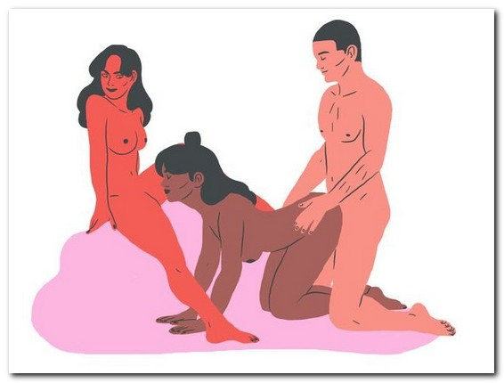 Group sex poses for FFM - Most popular threesome positions for any scenario