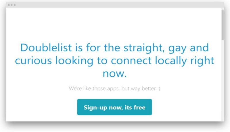 Main page of Doublelist - Is Doublelist Another Craigslist Alternative?