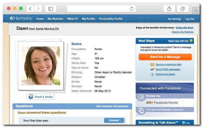 eHarmony - 15 best dating websites for women: casual dating, relationships, LGBT, sexting