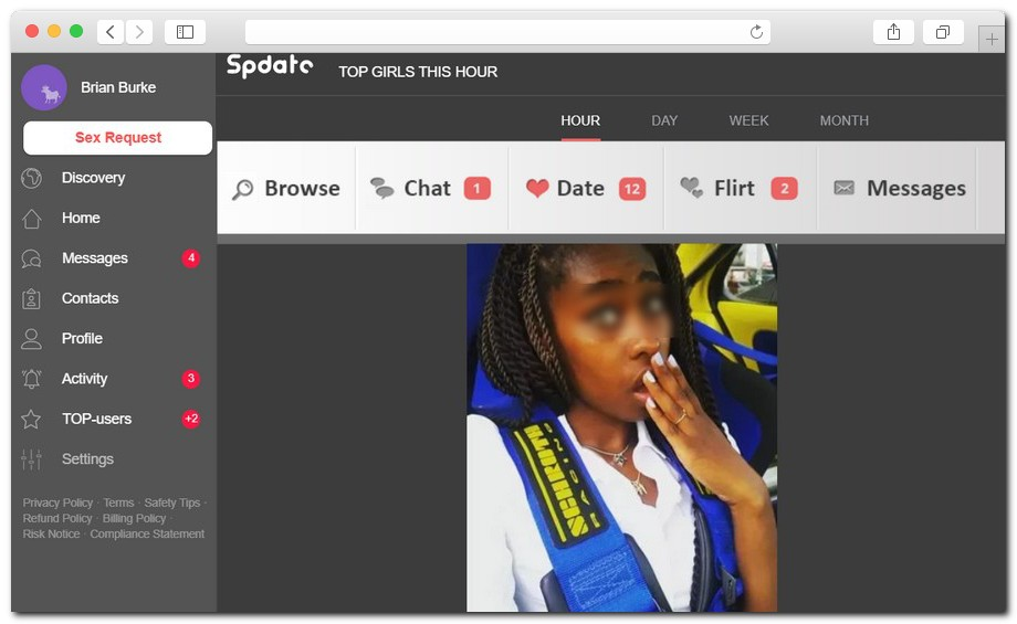 Spdate full review 7 - How I got tricked into sexting fake girls on Spdate: full review