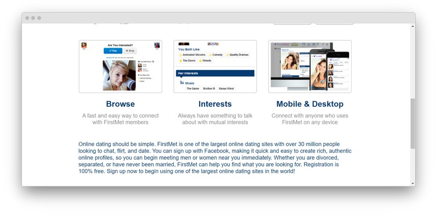 firstmet Review 2 - FirstMet Dating Site: A First-hand Review of the Service