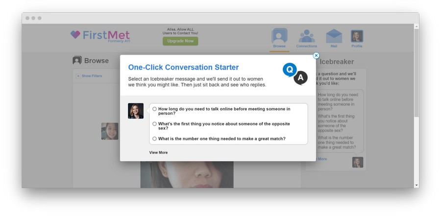 firstmet Review 5 - FirstMet Dating Site: A First-hand Review of the Service