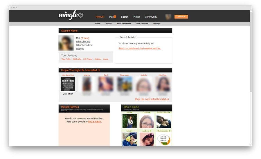 mingle2 review 9 - Mingle2 review: a place where millions of people come to mingle