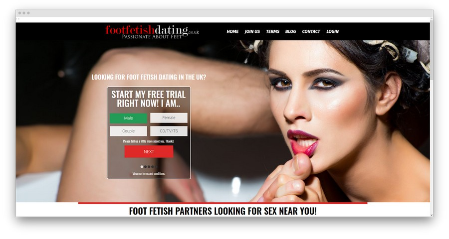 Foot Fetish Dating Sites1 - Top 5 Foot Fetish Dating Sites in 2020