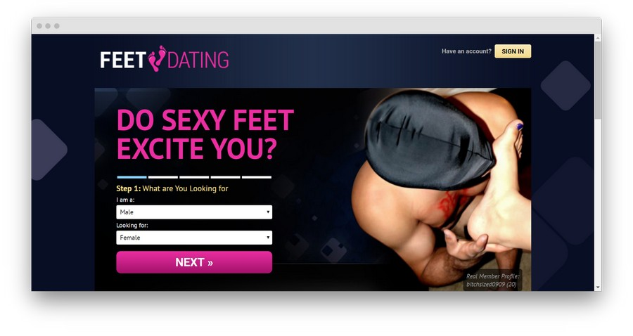 Foot Fetish Dating Sites3 - Top 5 Foot Fetish Dating Sites in 2020
