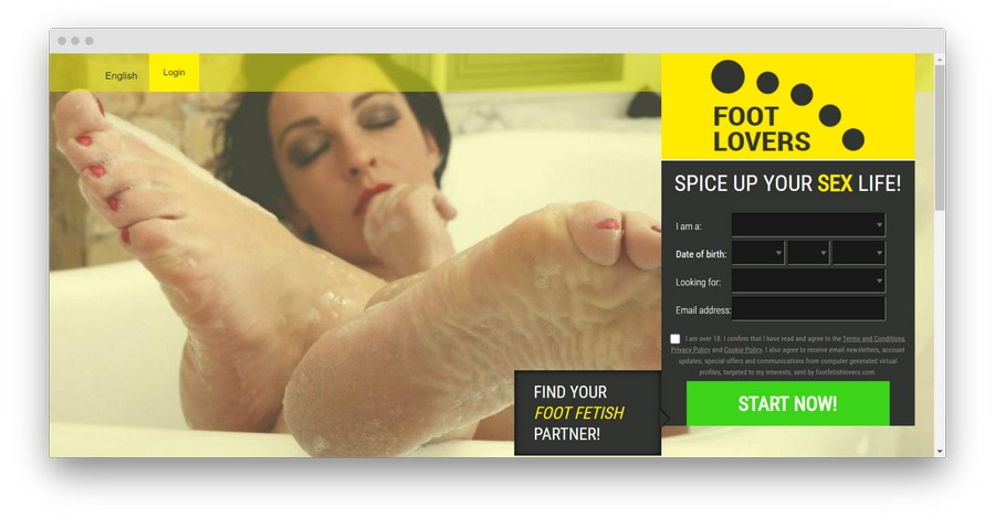 Foot Fetish Dating Sites5 - Top 5 Foot Fetish Dating Sites in 2020
