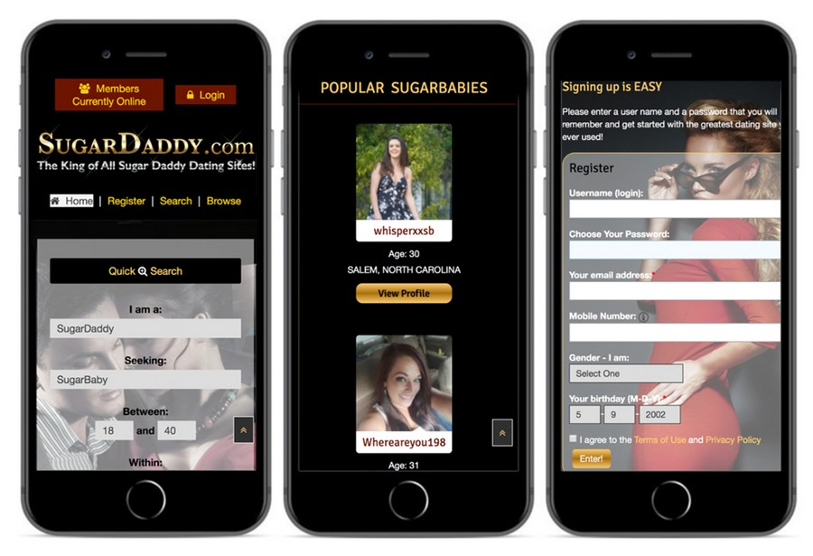 sugar daddy sites and apps5 - 8 Sugar Daddy Sites and Apps for Mutually Beneficial Relationships