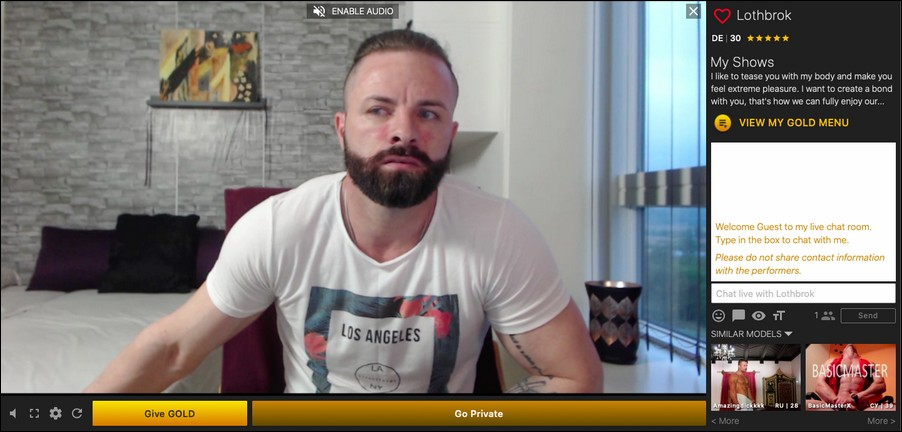 free gay cams26 1 - Chaturbate and NudeLive: Free Gay Cams Review