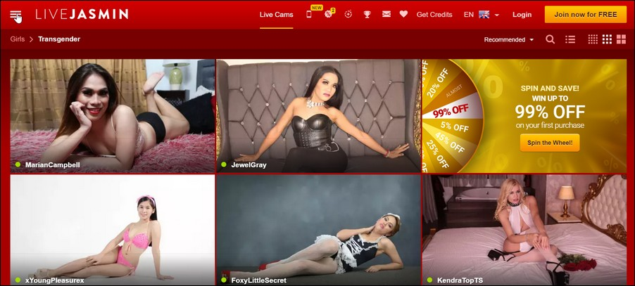 shemale cams9 1 - Top 4 Shemale Webcam Sites With the Hottest Trannies of the Web